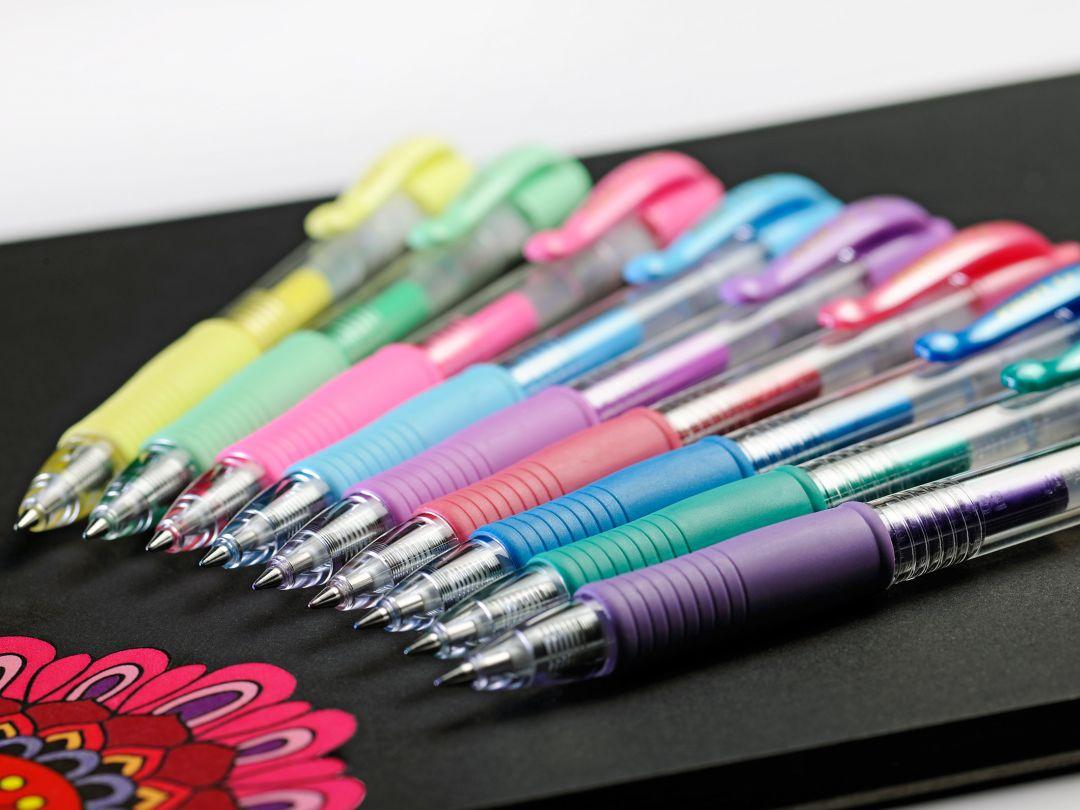 خودکار ژله ای پایلوت در رنگ های پاستل