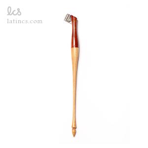 دسته قلم ابلیک مدل آذرخش طرح چوبی دو رنگ