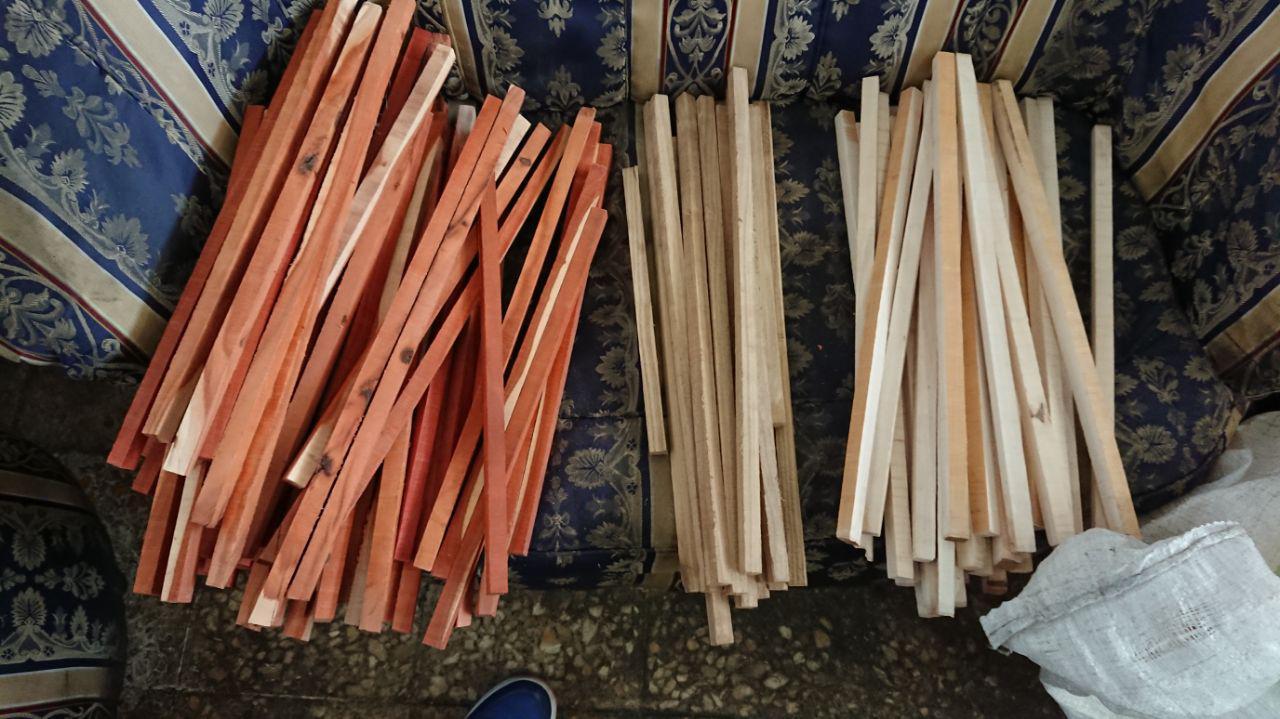 چوب های با کیفیت برای ساخت دسته قلم های با کیفیت