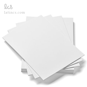مقوا اشتنباخ سفید 155 گرم سایز A4 بسته 10 عددی