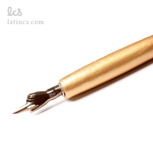 دسته قلم دیپ مدل آرا با روکش طلایی